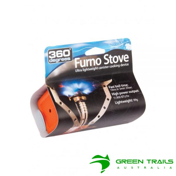 360 Degrees Furno Stove Ultra Lightweight Canister Cooking Device