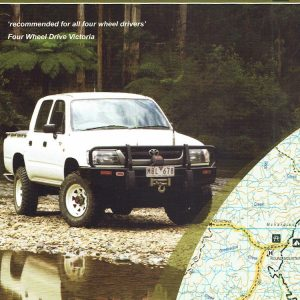 Dartmouth Cobberas Four Wheel Drive 4WD Map 5 - SV Maps
