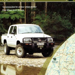 Far East Gippsland Four Wheel Drive 4WD Map