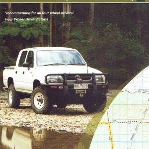Murray Sunset Four Wheel Drive 4WD Map