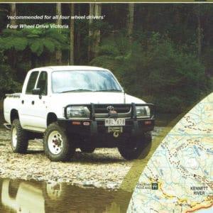 Otways Four Wheel Drive Topological Map 4
