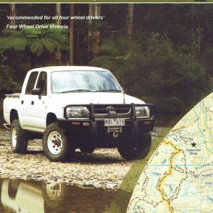 Snowy Wilderness Four Wheel Drive 4WD Map 7 - SV Maps