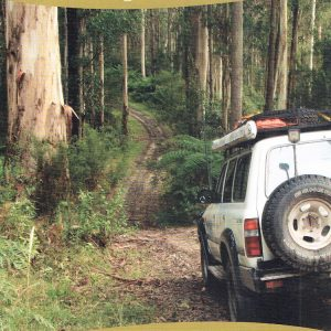 The Otways Four Wheel Drive 4WD Map