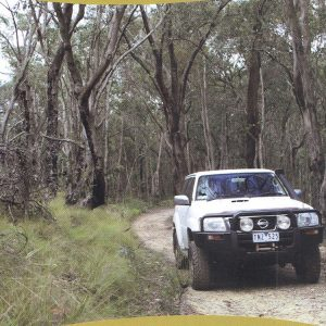Wombat State Forest Four Wheel Drive 4WD Map