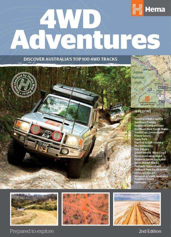 Four Wheel Drive Adventures - Top 100 4WD Tracks - 2nd Edition - Hema