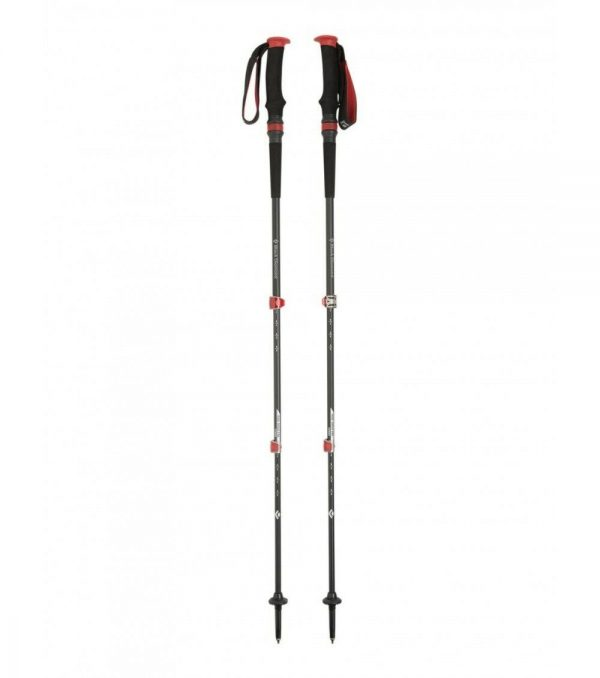 Black Diamond Trail Pro Shock Trekking Poles T-Pole Red 68-140cm 590g