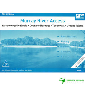 Murray River Access Guide - Yarrawonga-Mulwala to Ulupna Island Book 1 - Blue SV Maps