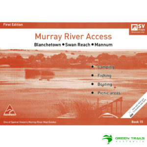 Murray River Access Guide - Blanchetown to Mannum Book 15 - Tangerine SV Maps