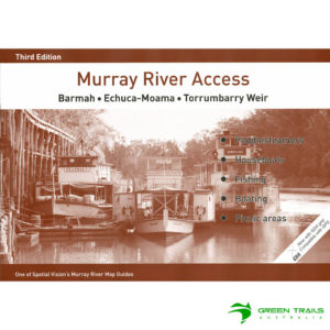 Murray River Access Guide - Barmah to Torrumbarry Weir Book 2 - Brown SV Maps
