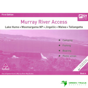 Murray River Access Guide - Lake Hume to Tallangatta Book 6 - Purple SV Maps