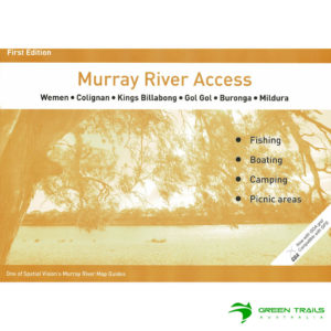 Murray River Access Guide - Wemen to Mildura Book 8 - Orange SV Maps