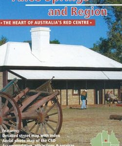 Alice Springs and Region - Westprint Tourist Map and Guide