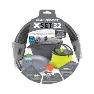 Sea to Summit X-Set 32 - 2.8L X-Pot with 8in X-Pan and 1.3L X-Pot Kettle