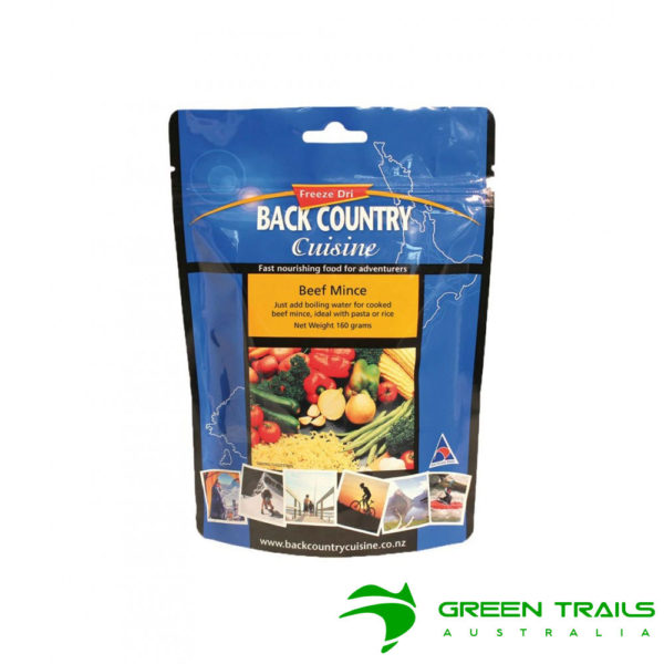 Back Country Beef Mince - 160Gm Freeze Dried Food