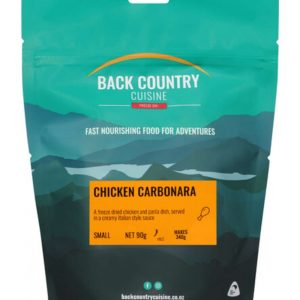 Back Country Chicken Carbonara Single Serve Freeze Dried Food