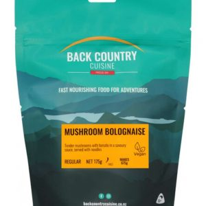 Back Country Mushroom Bolognaise Double Serve Freeze Dried Food