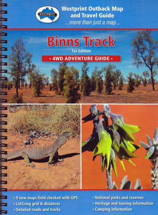 Binns Track Adventure 4WD Adventure Guide - Westprint