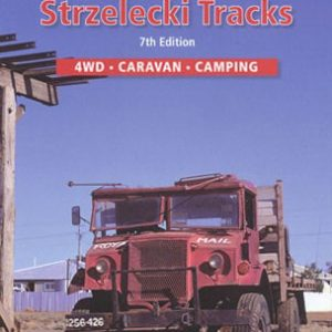 Birdsville and Strzelecki Tracks 4WD Caravan Camping Map - Westprint