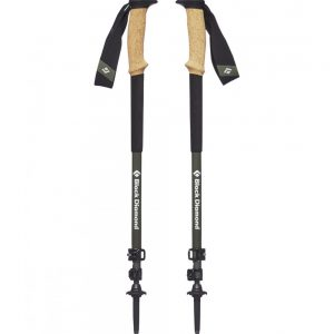 Black Diamond Alpine Carbon Cork Trekking Poles S19 T-Pole Tundra 61-130cm