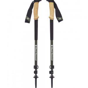 Black Diamond Alpine Carbon Cork Trekking Poles S19 T-Pole Tundra 61-130cm