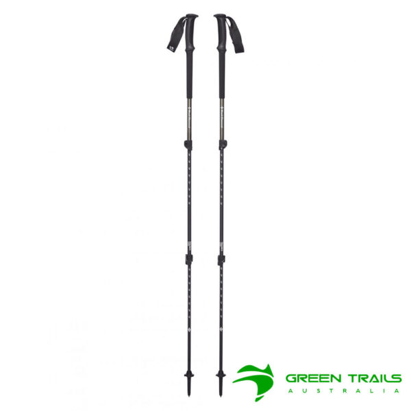 Black Diamond Trail Back Trekking Poles S19 T-Pole Sergeant 63-140cm