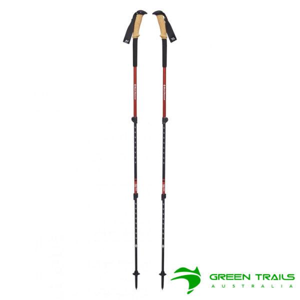 Black Diamond Trail Ergo Cork Trekking Poles S19 T-Pole Picante 69-140cm