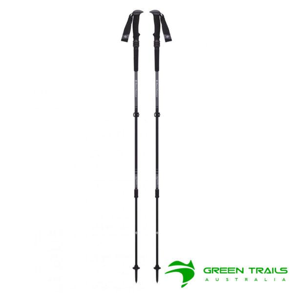 Black Diamond Trail Pro Shock Trekking Poles S19 T-Pole Granite 105-140cm