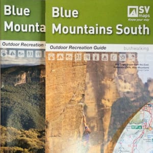 Blue Mountains North and South Map Pack