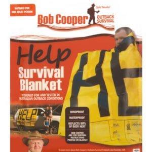 Bob Cooper Help Blanket