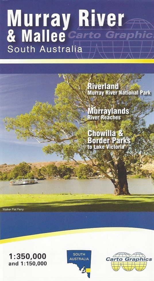 Map Of Australia Murray River.Murray River And Mallee Map South Australia Carto Graphics