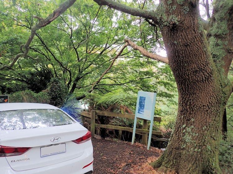 Telopea Road Parking for Dandenong Ranges Tourist Track to Sassafras