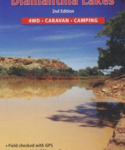 Diamantina Lakes 4WD Caravan Camping - Westprint Outback Map