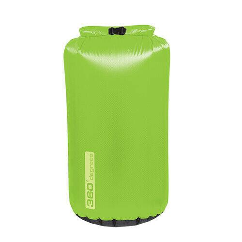 360 Degrees Dry Bag 70D Ripstop Fabric 4L | 8L | 13L Lime Green
