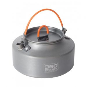360 Degrees Furno Kettle 1L Hard Anodised 170g
