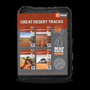 Great Desert Tracks Map Pack - Central | Eastern | Western | Simpson Desert