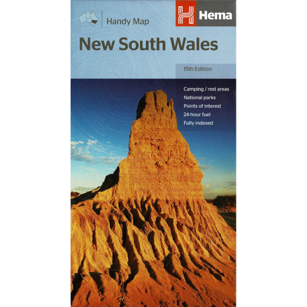 New South Wales Handy Map - Hema