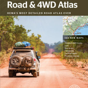 Australia Road and 4WD Atlas - Perfect Bound 12th Edition - Hema