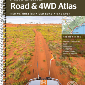 Australia Road and 4WD Atlas - Spiral Bound