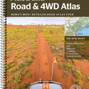 Australia Road and 4WD Atlas - Spiral Bound 12th Edition - Hema