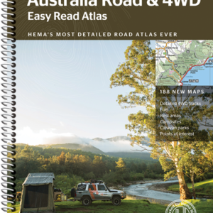 Australia Road and 4WD Easy Read Atlas - 12th Edition - Hema