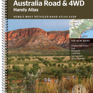 Australia Road and 4WD Handy Atlas - 12th Edition - Hema