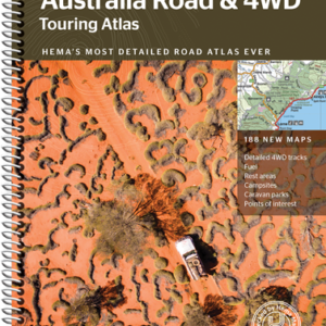 Australia Road and 4WD Touring Atlas - 12th Edition - Hema