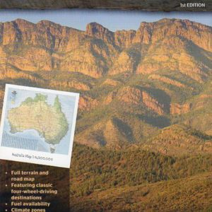 Australia Road and Terrain Map - 1st Edition Hema Maps