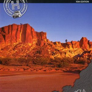 Central Australia 4WD Explorer Map - 10th Edition Hema Maps