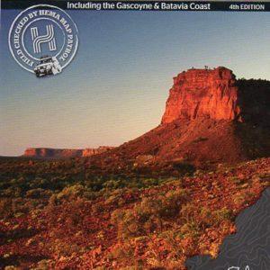 Mid West Western Australia 4WD Map - Gascoyne Batavia Coast