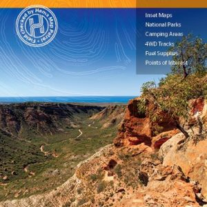 Pilbara 4WD Explorer Map - Coral Coast - Hema - Scale 1:1200K | 9th Edition 2019