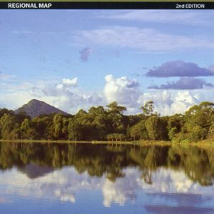 South East Queensland Regional Map - 2nd Edition Hema Maps
