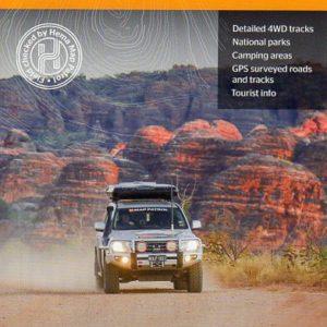 The Kimberley 4WD Map - Gibb River Road - Waterproof Hema Maps