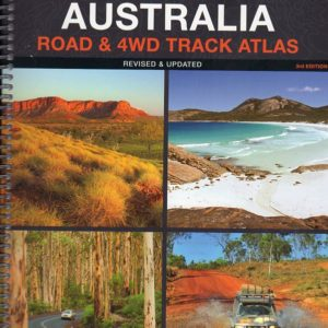 Western Australia Road and 4WD Track Atlas - 3rd Edition - Hema
