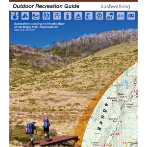 Kosciuszko Alpine Area Outdoor Recreation Guide Map